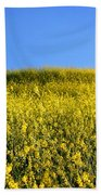 Mustard Grass Beach Towel