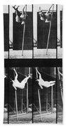 Muybridge: Photography Beach Towel