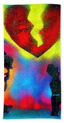 My Funny Valentine Beach Towel