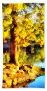 My Golden Tree Beach Sheet