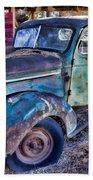 My Old Truck Beach Towel by Garry Gay