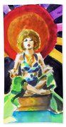 Mystic Vamp Beach Towel