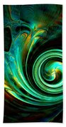 Mystical Spiral Beach Towel