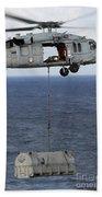 N Mh-60s Sea Hawk En Route Beach Towel