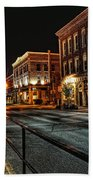 Napanee After Midnight Beach Towel