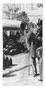 Napoleon IIi At Paris, 1867 Beach Towel