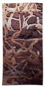 Natural Carvings Beach Towel