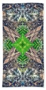 Nature Mandala Beach Towel