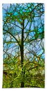 Nature's Church Windows  Beach Towel