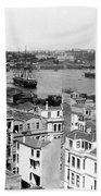 Naval Arsenal And The Golden Horn - Ottoman Empire - Turkey Beach Towel