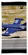 Navy Landing Beach Towel