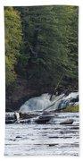 Nawadaha Falls 1 Beach Towel