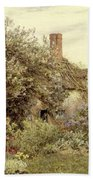Near Hambledon Beach Towel by Helen Allingham