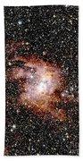 Nebula Ngc 3603 Beach Towel