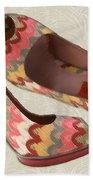 Needlepoint Peep Toes Beach Towel