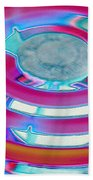 Neon Burner Beach Towel