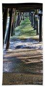 Neptune's Stairway Beach Towel by Mariola Bitner