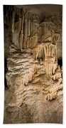 Nerja Caves In Spain Beach Towel