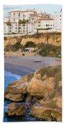 Nerja Town On Costa Del Sol Beach Sheet