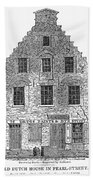 New Amsterdam: House, 1626 Beach Towel