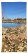New Mexico Series - Abiquiu Lake IIi Beach Towel