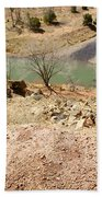 New Mexico Series Turn Of The River Beach Towel