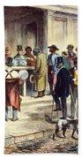 New Orleans: Voting, 1867 Beach Towel