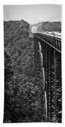 New River Gorge Bridge Fayetteville West Virginia Beach Towel