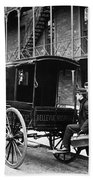 New York: Ambulance, 1895 Beach Towel