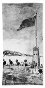 New York: Battery, 1793 Beach Towel