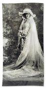 New York: Bride, 1920 Beach Towel