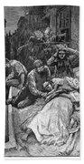 New York: Heat Wave, 1883 Beach Towel