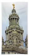 New York Municipal Building Beach Towel