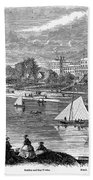 New York State: Hotel, 1862 Beach Towel