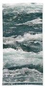 Niagara River Rapids 2 Beach Towel