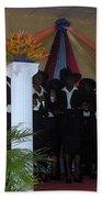 Nigerian Church Choir Beach Towel
