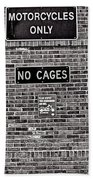 No Cages Beach Towel