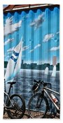 No Fossil Fuels Required Beach Towel