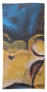 Nocturne - Nudes Gallery Beach Sheet