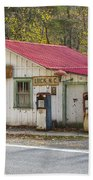 North Carolina Country Store And Gas Station Beach Towel