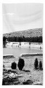 North Pool In 1939 Beach Towel