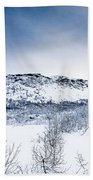 Norwegian Winter Beach Towel
