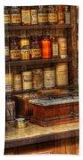 Nostalgia Pharmacy 2 Beach Sheet