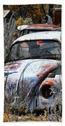 Not Herbie The Love Bug Beach Towel