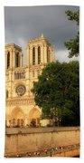 Notre Dame De Paris 2 Beach Towel