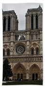 Notre Dame De Paris Beach Towel