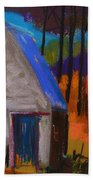November Sunset Beach Towel