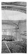 Nyc: Carnegie Hall, 1891 Beach Towel