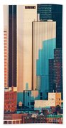 Nyc Colors And Lines II Beach Towel