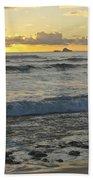 Oahu Morning 6835 Beach Towel